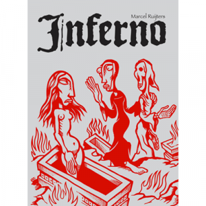Capa do livro Inferno, de Marcel Rujiters. Chili com Carne