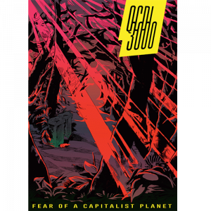 Capa do livro QCDI 3000 - Fear of a Capitalist Planet. Chili com Carne