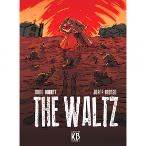 Capa do livro The Waltz, de Nuno Duarte e Joana Afonso. Kingpin Books