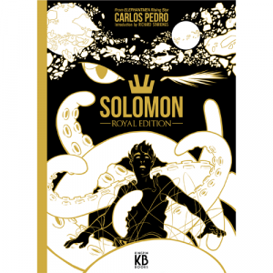 Capa do livro Solomon Royal Edition, de Carlos Pedro. Kingpin Books