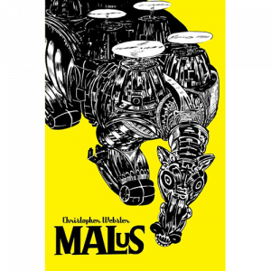 Capa do livro Malus, de Christopher Webster. Chili com Carne