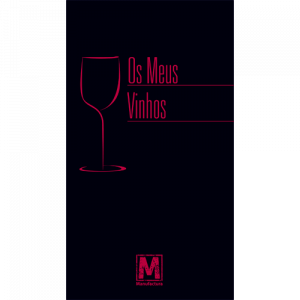 Capa do livro Os Meus Vinhos. Editora Manufactura