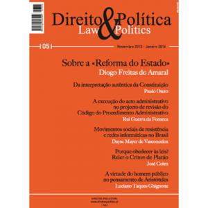 Capa da revista Direito & Política Nº5, Revista Trimestral de Grande Informação. Diário de Bordo