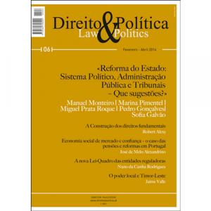 Capa da revista Direito & Política Nº6, Revista Trimestral de Grande Informação. Diário de Bordo