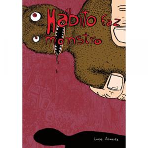 Capa do livro O Hábito Faz o Monstro, de Lucas Almeida. Chili com Carne