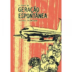 Capa do livro O Tempo da Geração Espontânea, de Rafael Dionísio. Chili com Carne