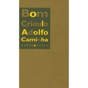 Capa do livro Bom-Crioulo, de Adolfo Caminha. Palimpsesto Editora