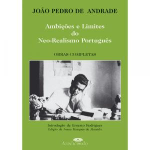 Capa do livro Ambições e Limites do Neo-Realismo Português, de João Pedro de Andrade. Acontecimento