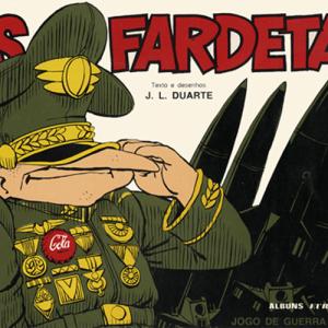 Capa do livro Os Fardetas, de J. L. Duarte. Europress - Álbuns BêDê