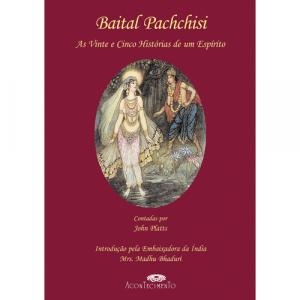 Capa do livro Baital Pachchisi - As Vinte e Cinco Histórias de um Espírito, de John Platts. Acontecimento