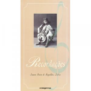 Capa do livro Recordações, de Isaura Pavia de Magalhães Lisboa. Europress - Diamante