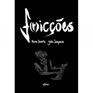 Capa do livro F(r)icções. de Nuno Duarte e João Sequeira. El Pep Books