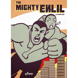 Capa do livro The Mighty Enlil, de Pedro Cruz. El Pep Books