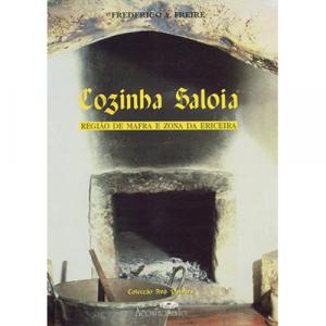Capa do livro Cozinha Saloia, de Frederico A. Freire. Acontecimento