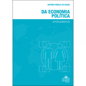Capa do livro Da Economia Política: Apontamentos, de António Rebelo de Sousa. Diário de Bordo