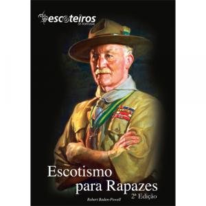 Capa do livro Escotismo para Rapazes, de Robert Baden-Powell