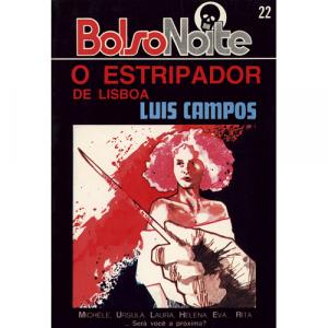 Capa do livro O Estripador de Lisboa, de Luis Campos. Europress - BolsoNoite