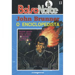 Capa do livro O Enciclopedista, de John Brunner. Europress - BolsoNoite