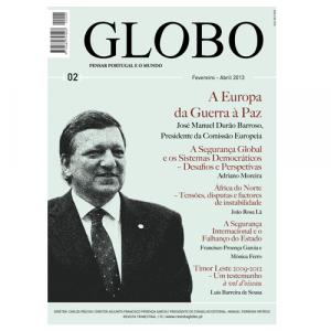 Capa da revista Globo Nº2 - Pensar Portugal e o Mundo. Diário de Bordo