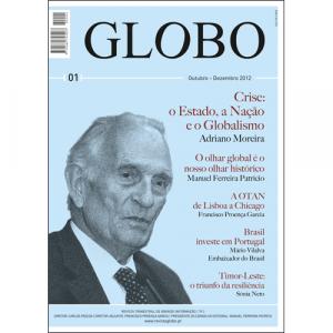 Capa da revista Globo Nº1, Revista Trimestral de Grande Informação. Diário de Bordo