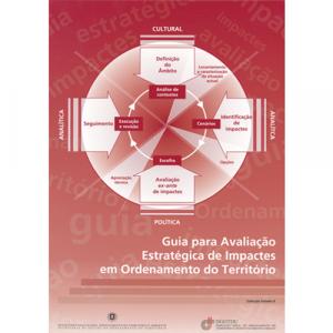 Capa do livro Guia para Avaliação Estratégica de Impactes em Ordenamento do Território. DGOTDU