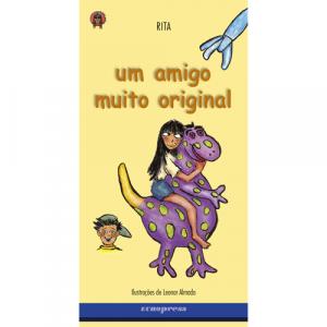 Capa do livro Um Amigo Muito Original, de Rita. Europress - O Índio Maluco