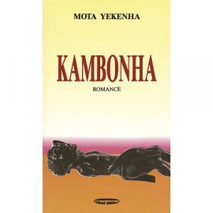 Capa do livro Kambonha, Romance de Mota Yekenha. Europress - Europavizinha