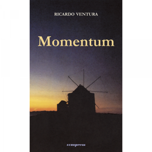 Capa do livro Momentum, de Ricardo Ventura. Europress - Europavizinha