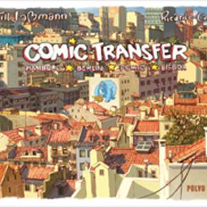 Capa do livro Comic-Transfer, de Till Laßmann e Ricardo Cabral. Polvo Editora