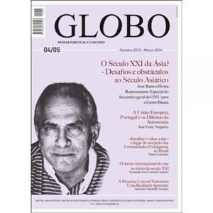 Capa da revista Globo Nº4/5 - Pensar Portugal e o Mundo. Diário de Bordo