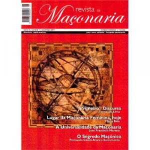 Capa da revista da Maçonaria Nº1. Diário de Bordo
