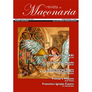 Capa da revista da Maçonaria - Nº2. Diário de Bordo