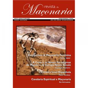 Capa da revista da Maçonaria nº3. Diário de Bordo