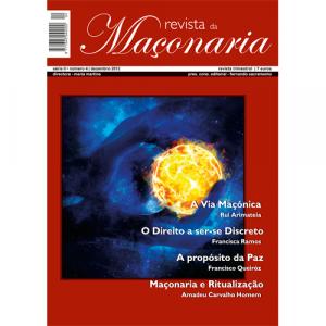 Capa da revista da Maçonaria Nº4. Diário de Bordo