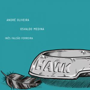 Capa do livro Hawk, de André Oliveira, Osvaldo Medina e Inês Falcão Ferreira. Kingpin Books