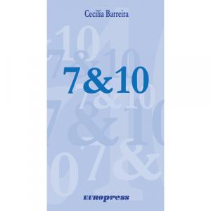 Capa do livro 7 & 10, de Cecilia Barreira. Europress - O sol no tecto