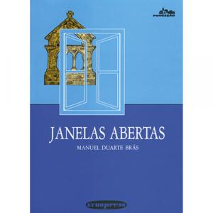 Capa do livro Janelas Abertas, de Manuel Duarte Brás. Europress - Povoação