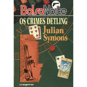 Capa do livro Os Crimes Detling, de Julian Symons. Europress - BolsoNoite