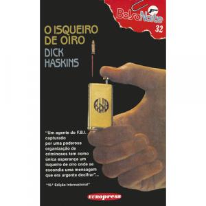 Capa do livro O Isqueiro de Oiro, de Dick Haskins. Europress - BolsoNoite