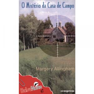 Capa do livro O Mistério da Casa de Campo, de Margery Allingham. Europress - BolsoNoite