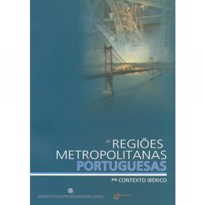 Capa do livro As Regiões Metropolitanas Portuguesas no Contexto Ibérico. DGOTDU