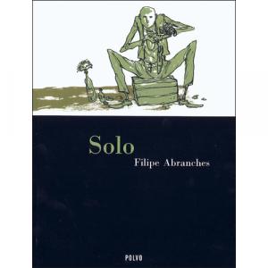 Capa do livro Solo, de Filipe Abranches. Polvo Editora