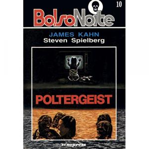 Capa do livro Poltergeist, de James Kahn e Steven Spielberg. Europress - BolsoNoite