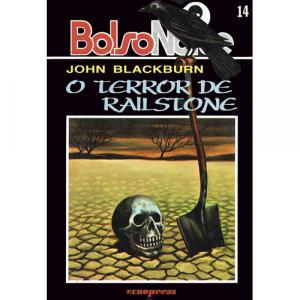 Capa do livro O Terror de Railstone, de John Blackburn. Europress - BolsoNoite