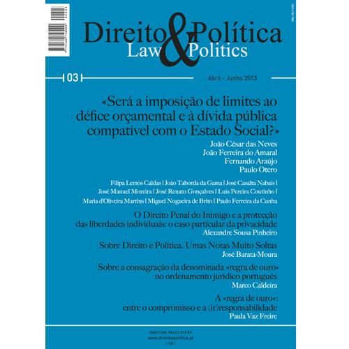 DIREITO & POLÍTICA N.º 3 – Diário de Bordo