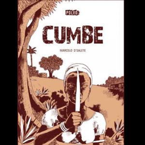 Capa do livro Cumbe, de Marcelo D'Salete. Polvo Editora