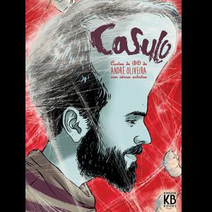 Capa do livro Casulo, Cardas de BD de André Oliveira com Vários Artistas. Kingpin Books