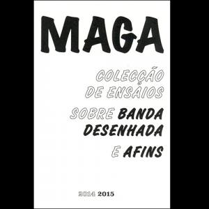 Capa do livro MAGA - Colecção de Ensaios Sobre Banda Desenhada e Afins 2014/2015