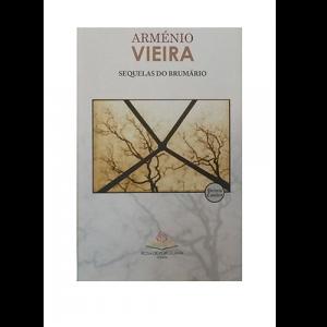 Capa do livro Sequelas do Brumário, de Arménio Vieira. Rosa de Porcelana Editora
