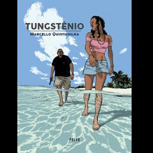 Capa do livro Tungsténio, de Marcello Quintanilha. Polvo Editora